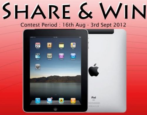 Ixperience Facebook SHARE & WIN