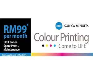 Konica Minolta Color Printing come to Life
