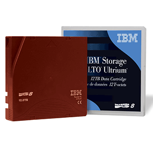 IBM LTO 8 Ultrium Data Cartridge Backup Data Storage Solutions