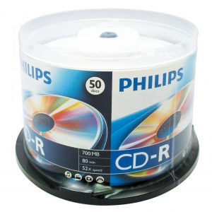 PHILIPS CD-R Optical Media Data Storage