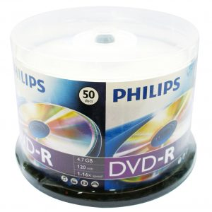 PHILIPS DVD-R Data Storage Optical Media