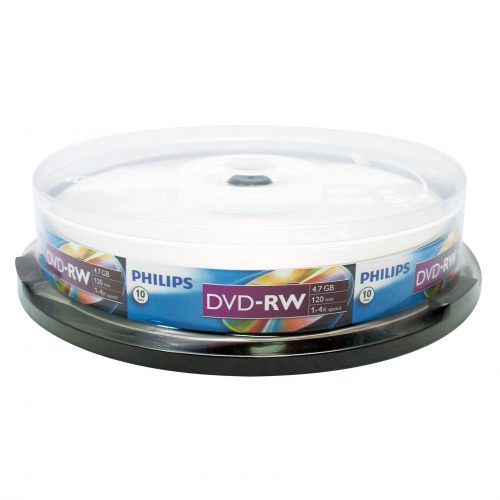 PHILIPS DVD-RW Data Storage Optical Media