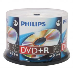 PHILIPS DVD+R Data Storage Optical Media