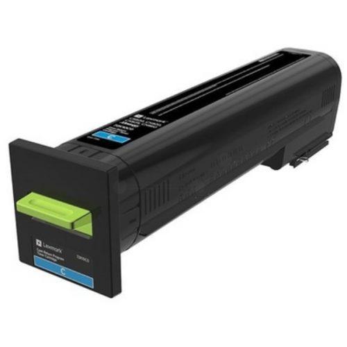 CS820 CX820 CX825 CX860 Cyan Return Program Toner Cartridge 8k