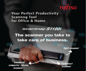 Fujitsu ScanSnap S1100i – Get Instant Rebate for Any Purchase