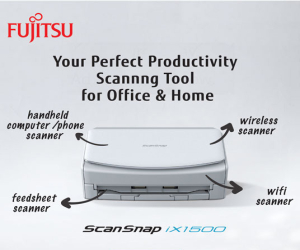 Fujitsu ScanSnap ix1500 – Get Instant Rebate for Any Purchase