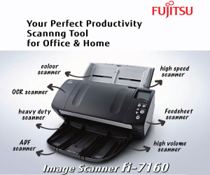 FUJITSU Image Scanner fi-7160 – Get Instant Rebate for Any Purchase