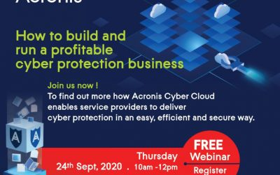 Acronis Cyber Cloud Webinar