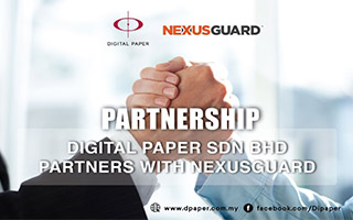 Digital Paper Partners with Nexusguard to Help Communications Service Providers Tap into the Growing DDoS Mitigation Market