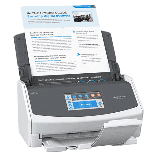 Fujitsu Scansnap iX1500 Document Wireless Scanner